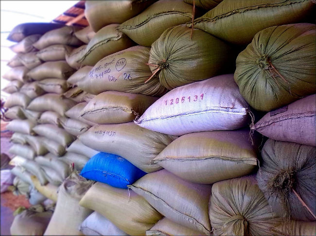 Bulk food sacks