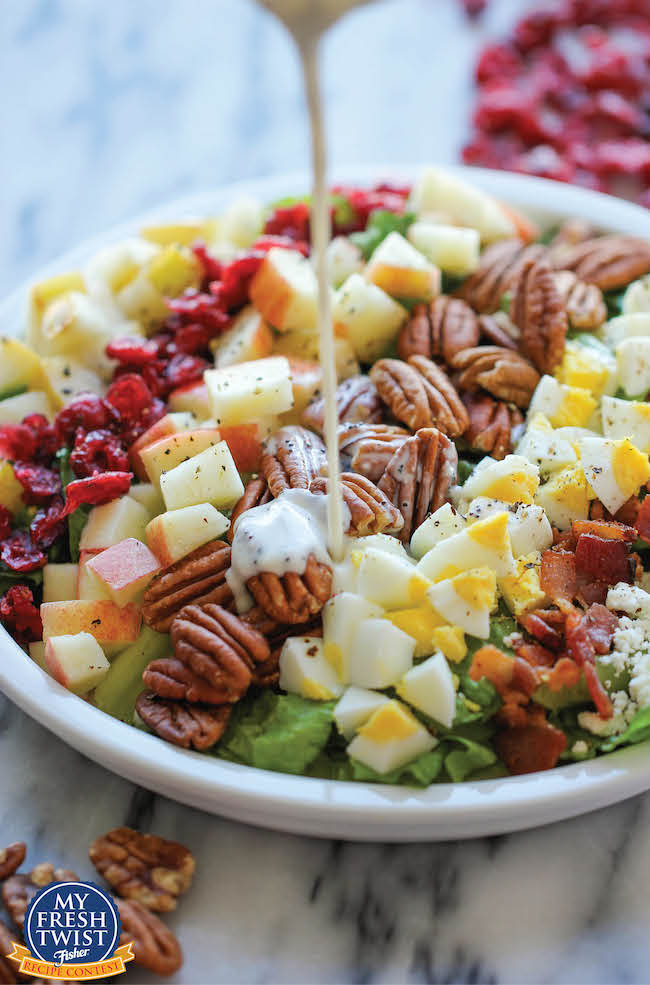 Harvest fall cobb salad