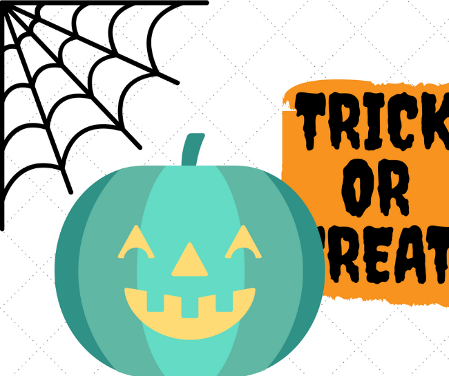 Teal pumpkin for food allergy sensitivity awareness trick or treating