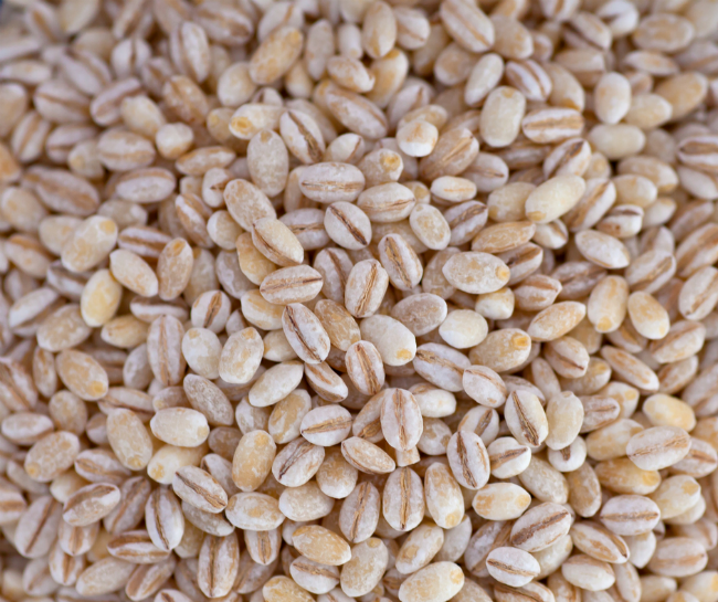 Dry wheat berries
